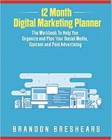knjiga 12 month digital marketing planner
