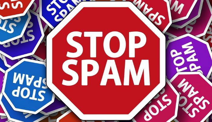E-mail ne sme da bude spam