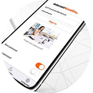 IA Android app internetacademy