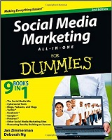 Social Media Marketing All-In-One for Dummies by Jan Zimmerman & Deborah Ng