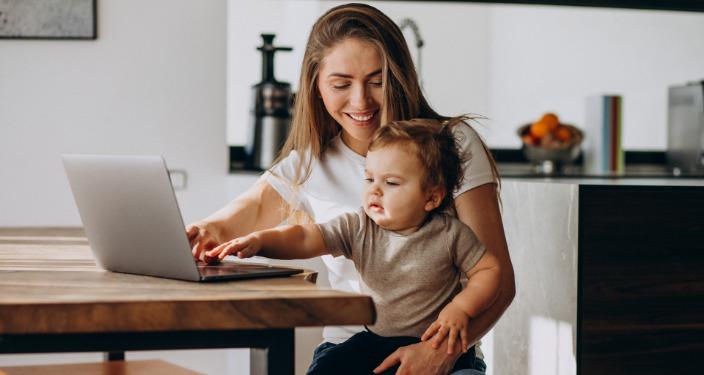 Kako raditi od kuće i čuvati decu